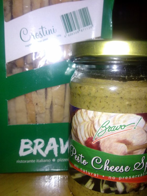Pesto Cheese Spread