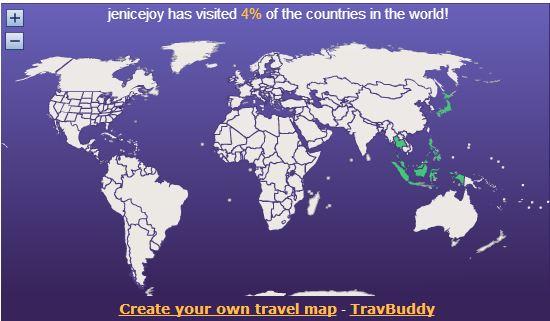 My Travel Map