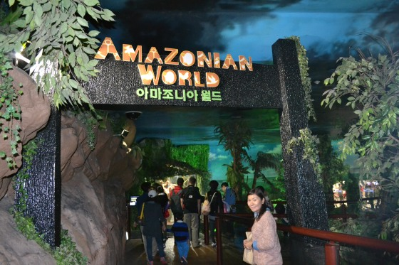 Amazonian World inside Coex Aquarium