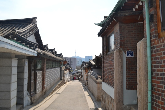Street of Bukchon Village