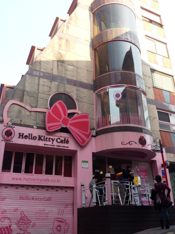 Hello Kitty Cafe at Hongdae