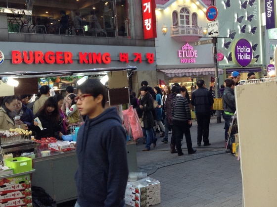 Myungdong is the best place to shop for beauty and cosmetic products