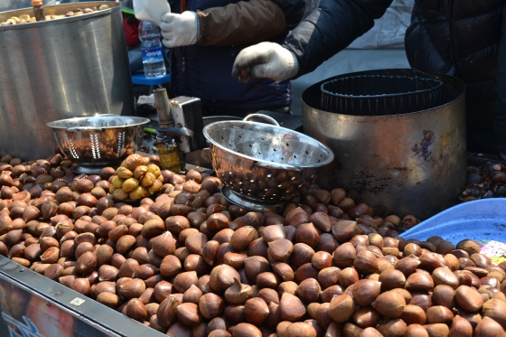Peeled Chestnuts