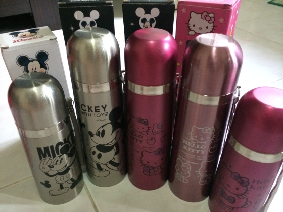 Hello Kitty & Mickey Mouses Tumblers
