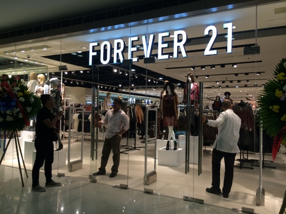 Forever 21 Southmall