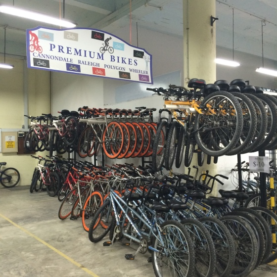 Premium bikes can be rented out