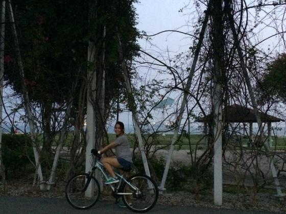 Biking?! Push mo yan te!