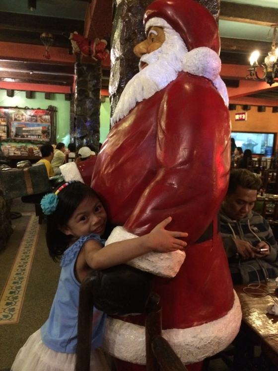 Amira in love with Mr Santa