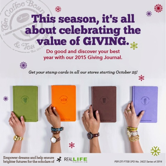 CBTL Giving Journal 2015