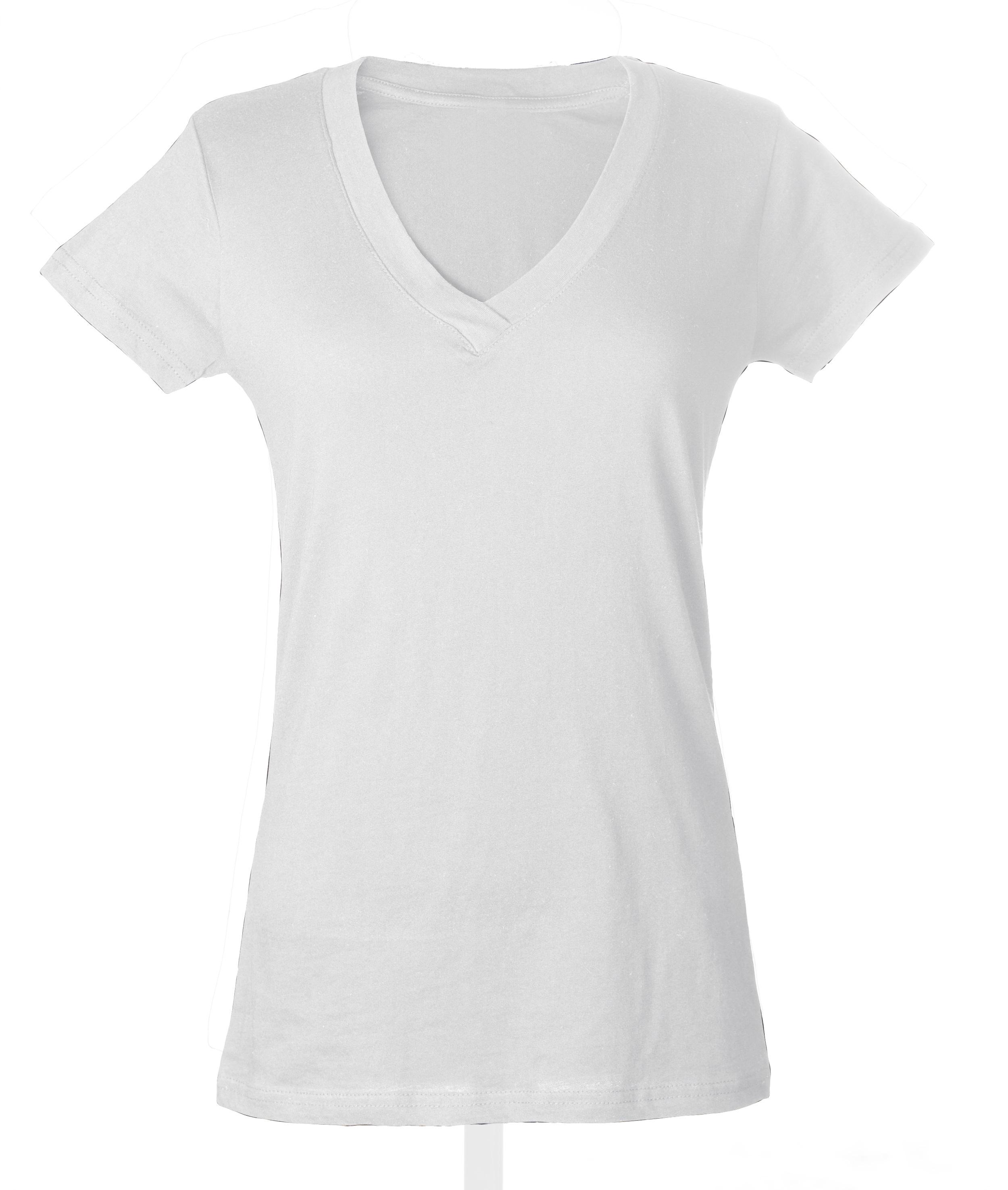 Plain White T Shirts Womens V Neck Raveitsafe