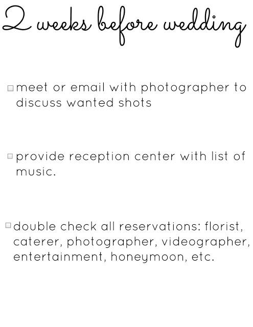 wedding planning checklist 6 months