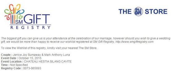 03_M+J Wedding e-Invite_SM Gift Registry