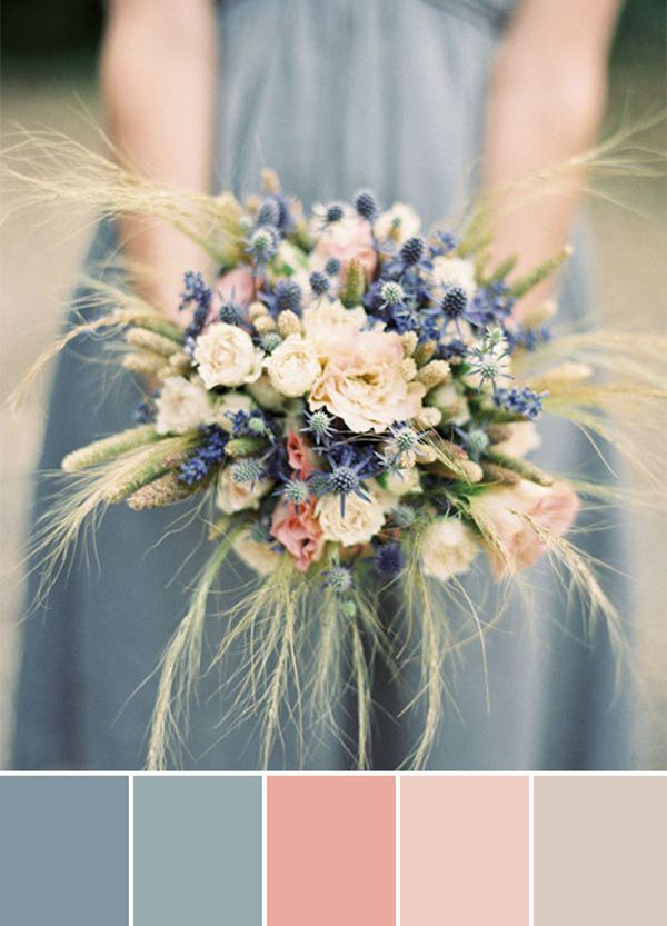 Mj Wedding Color Palette Dusty Blue Nude Our Journey His